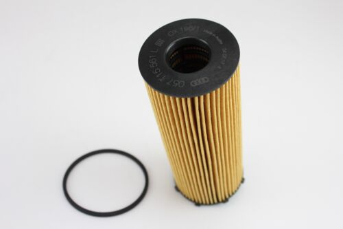 Original Audi A4 8E B7 Ölfilter Filtereinsatz 2.7 TDI 3.0 TDI 180PS 204PS 233PS