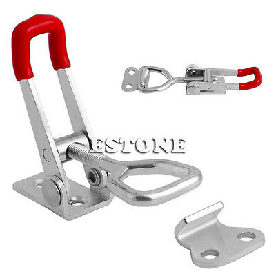 Quick Toggle Clamp 100Kg 220Lbs Holding Capacity Latch Metal Hand Tool GH-4001