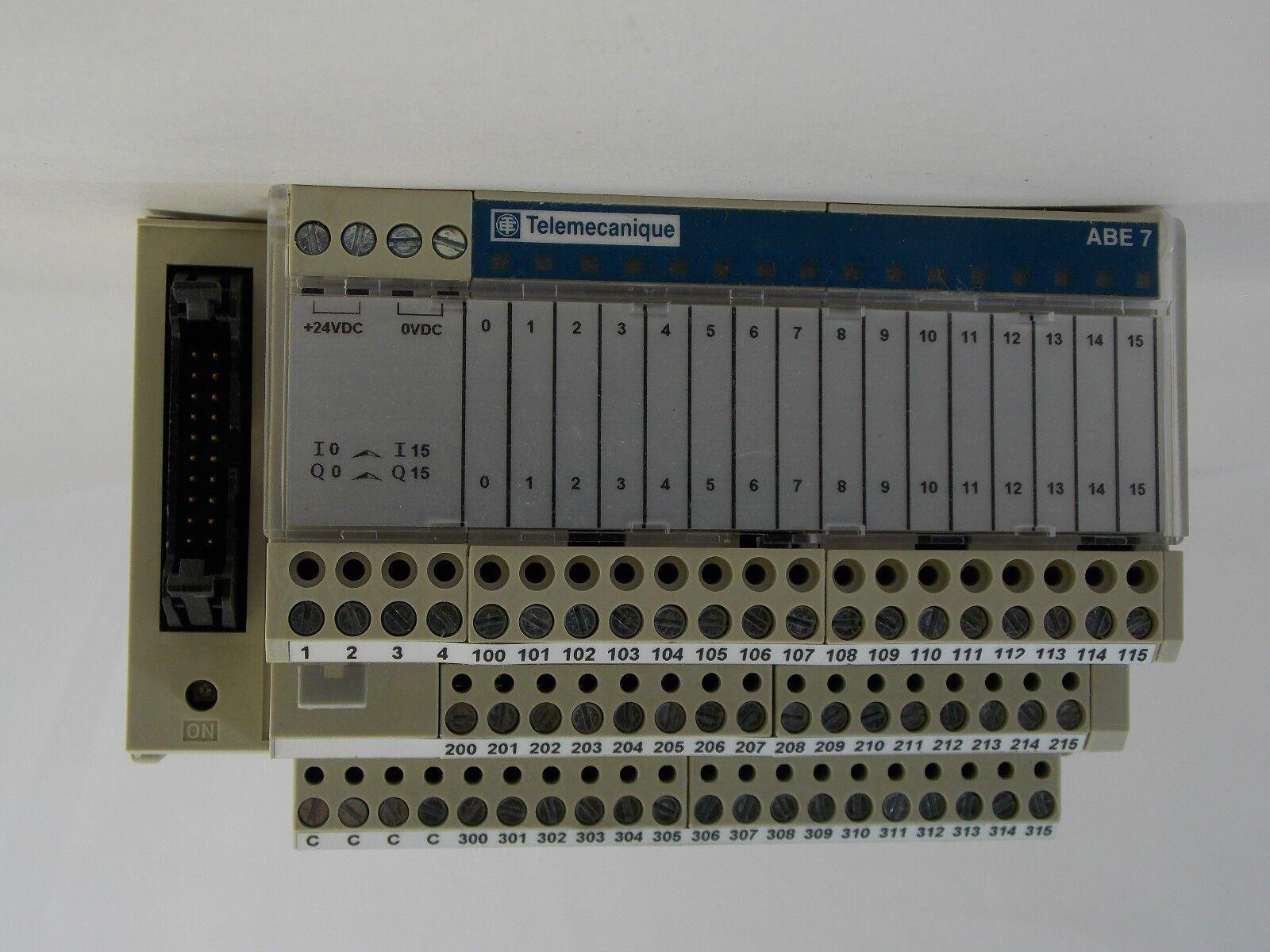 TELEMECANIQUE ABE7-R16S210 I//O MODULE 2 OUTPUT 16 CHANNEL