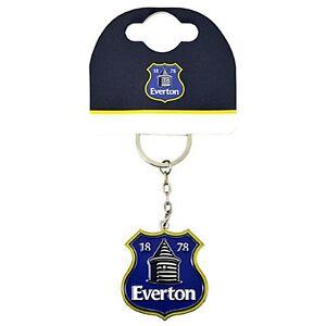 Chelsea FC Crest large metal enamel Keyring bb