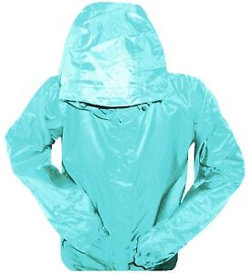 LADIES-DUCK-EGG-BREATHABLE-WATERPROOF-WINDPROOF-JACKET-hiking-camping-festival