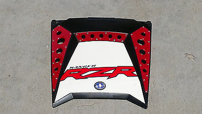 American Rock Rods Raw finish Hood scoop//grill kit for 2011 Polaris RZR