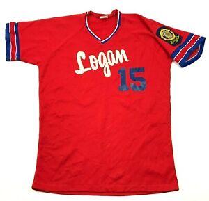 NEW VINTAGE Rawlings American Legion Baseball Jersey Large JARDINE PETROLEUM 70s
