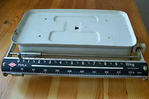Antike Mechanische Kuchenwaage Krups Perla Bis 10 Kg Raritat Ebay