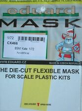 Eduard 1/72 CX466 Canopy Mask for the Airfix Nakajima B5N1 'Kate' kit