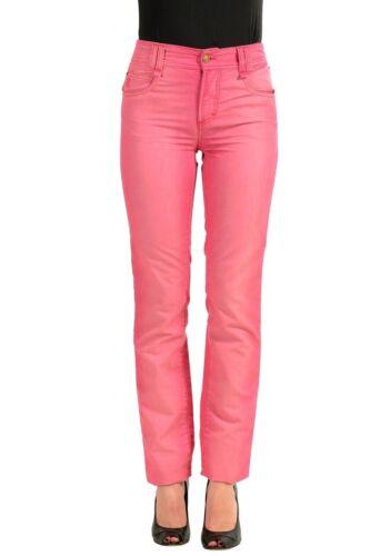 Stretch Galliano Us Jambe Jeans Femmes John 26 Droite Rose YwFqWv