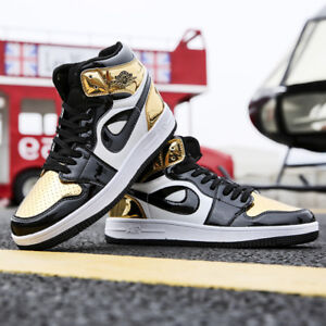 Men/'s Classic Athletic Sneakers Outdoor Running Sports Walking Shoes High Top