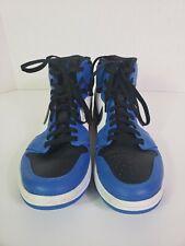 eb7db7b50bf67f Air Jordan 1 Retro High Rare Air Soar Blue Black White Shoes 332550-400 Sz
