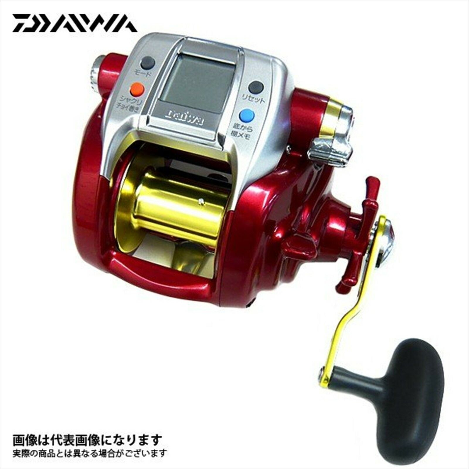 DAIWA HYPER TANACOM 600R (LIMITED COLOR) PE (66lb)-500m Electric Reel NEW