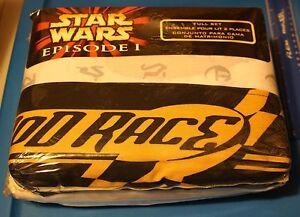 Star-Wars-Episode-I-POD-RACE-FULL-SHEET-SET-NEW