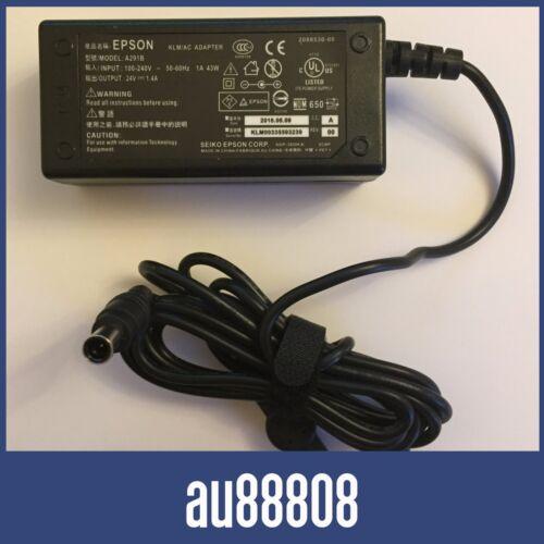AC ADAPTER POWER SUPPLY CHARGER EPSON PERFECTION V500 V550 V600 V700 V800 A411E