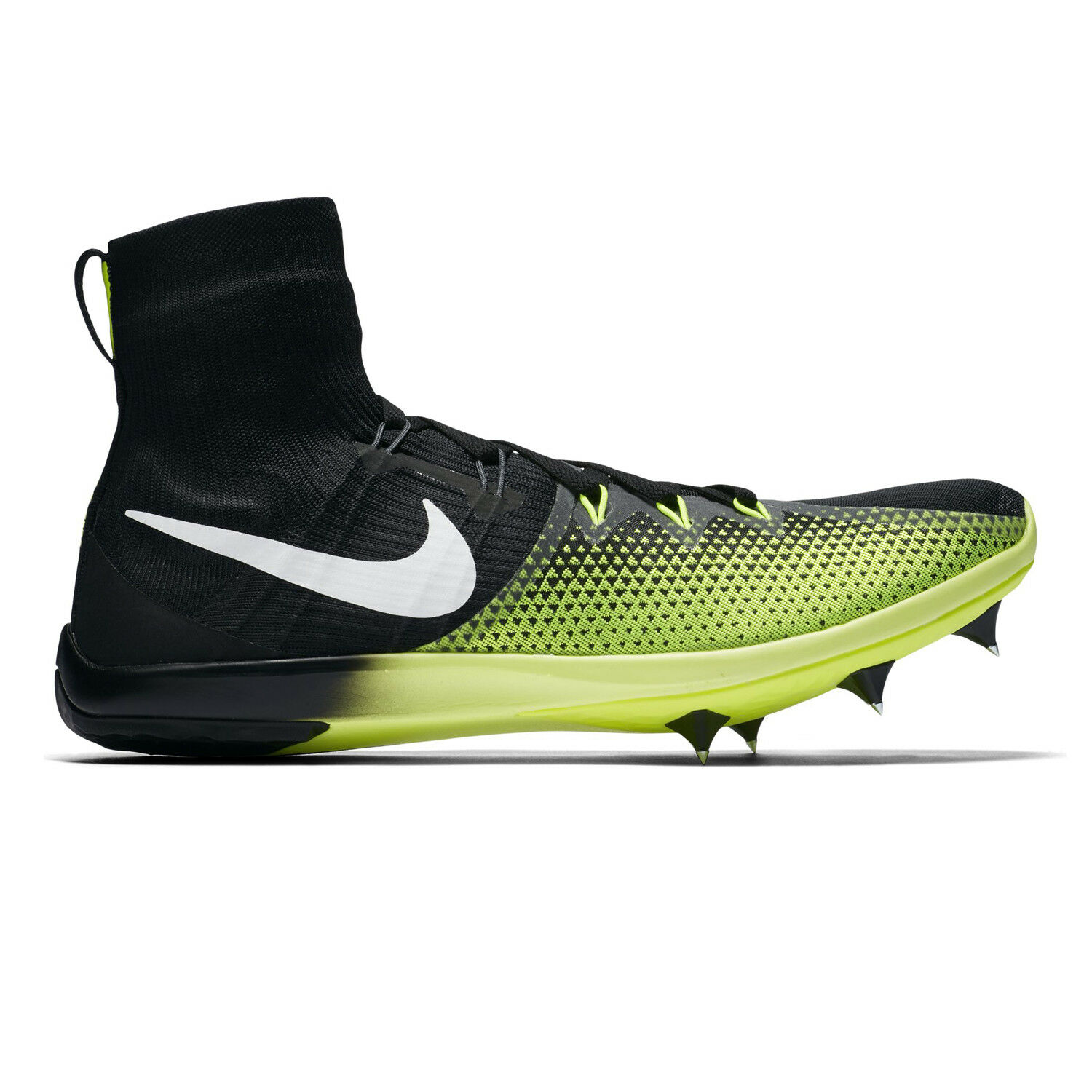 7c37488d4ec3 NIKE ZOOM VICTORY 4 XC cross country TRACK SPIKE SPIKE SPIKE mens 12 black  volt 95d154