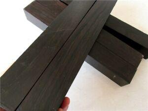 Black-Ebony-Timber-Pool-Cue-Blank-Turning-Knife-Door-Pen-Handles-Lumber