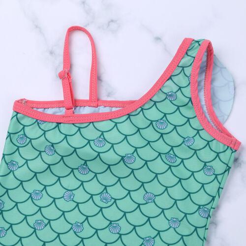 Baby Kids Girl Swimwear Bikini Swimsuit Swimming Swim Bathing Costume Age 12M-8Y