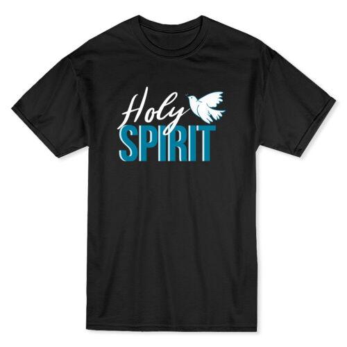 Holy Spirit  My Church My Faith Men/'s Black T-shirt