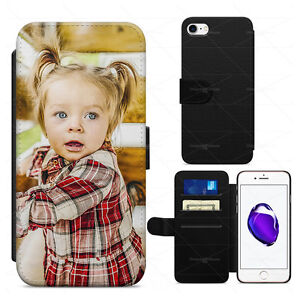size 40 84231 8beb8 Details about PERSONALISED CUSTOM PHONE COVER CASE FOR APPLE IPHONE MANY  MODELS LEATHER FLIP