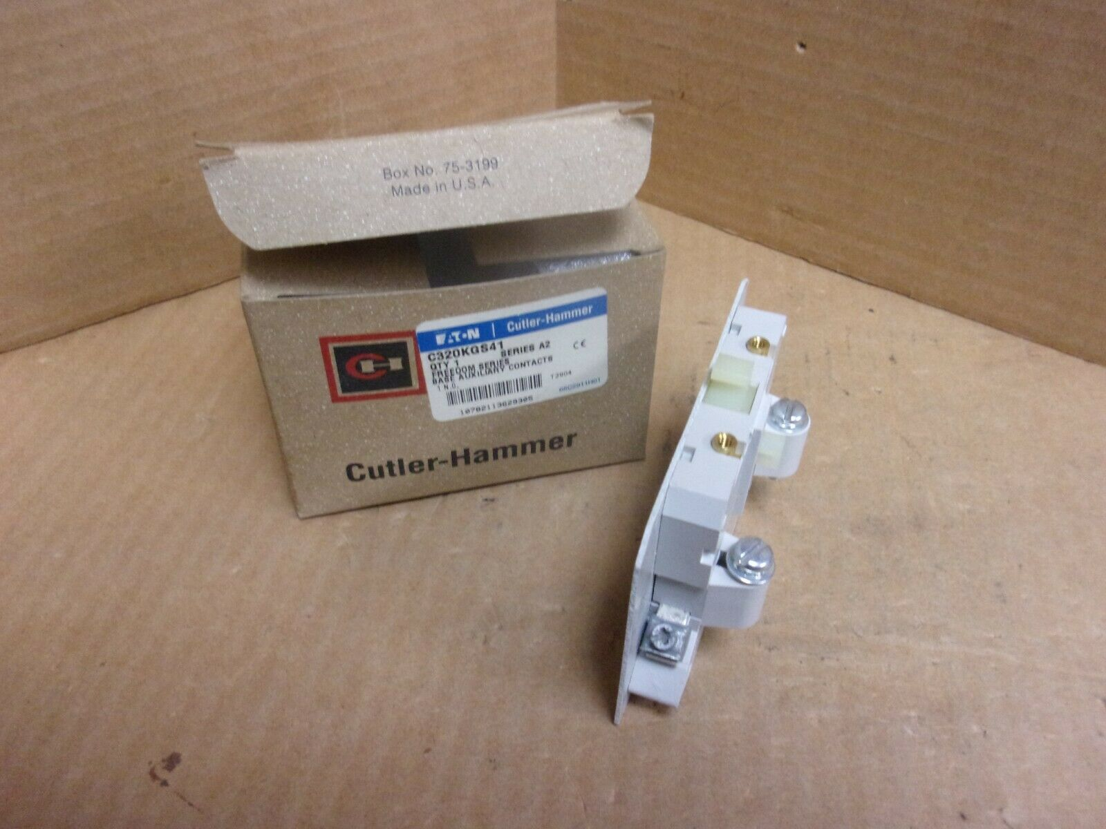 Final sale price Cutler-Hammer C320KGS41 Industrial