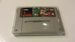 50-Custom-PAL-Super-Nintendo-Entertainment-System-et-SFC-Cartouche-Panier-Protecteurs-manches-clair