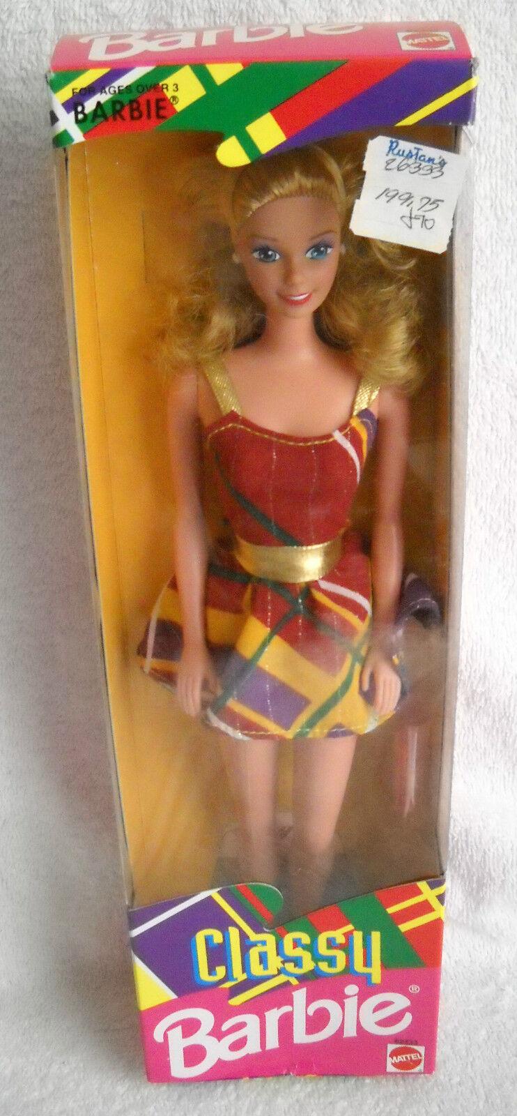 Nunca quitado de la Caja Mattel Filipinas elegante Barbie problema extranjeros