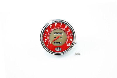 V-Twin 39-0374 Replica Speedometer with 2240:60 Ratio