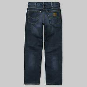 d1d77bc63d5 Carhartt Wip Marlow Pant Jeans Denim Natural Dark relaxed straight ...