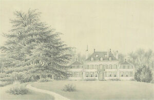 Late 19th Century Graphite Drawing
