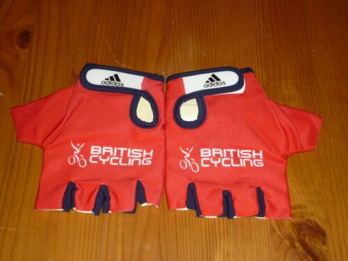 ADIDAS BRITISH CYCLING TRACK MITTS BRAND NEW IN BAG SIZE LARGE