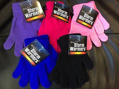 Job Lot 225 X Ragazzi Ragazze Unisex Per Bambini Inverno Magic Gloves Elastico Lavorato A Maglia-mostra Il Titolo Originale