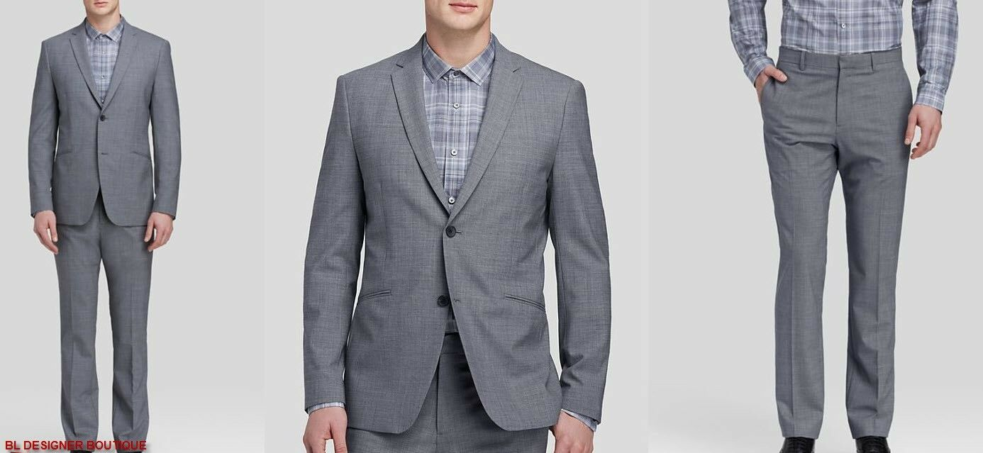 THEORY Rodolf Stepney Two-Button Wool Blend Luxurious Sport Suit sz 36/28 NWT