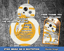 STAR WARS birthday invitation personalized YOU PRINT printable