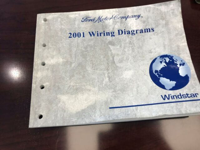 2001 Ford Windstar Electrical Wiring Diagram Manual Dealer