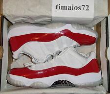Air Jordan Retro 11 Low Cherry Varsity Red US 12 EU46 UK11 DS 1 2 3 4 5 6 7 8 13