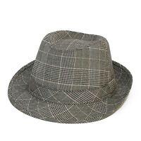 Prince of Wales Grey Trilby Hat (Grey, M)
