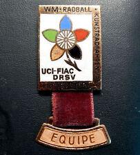WM Radball/ Kunstradfahren 1969. UCI/FIAC/ DRSV. Erfurt DDR. EQUIPE