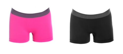 Pack of 2 Women/'s high quality sports style boyshorts boxers briefs
