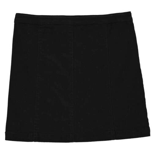 Firetrap Kids Girls Denim Mini Skirt Junior Cotton Zip Regular Fit Stretch
