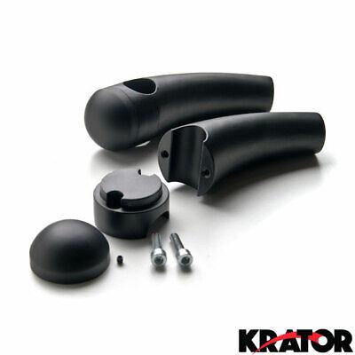 Krator Custom Chrome Motorcycle 1 Handlebar 3.5 Risers For ...
