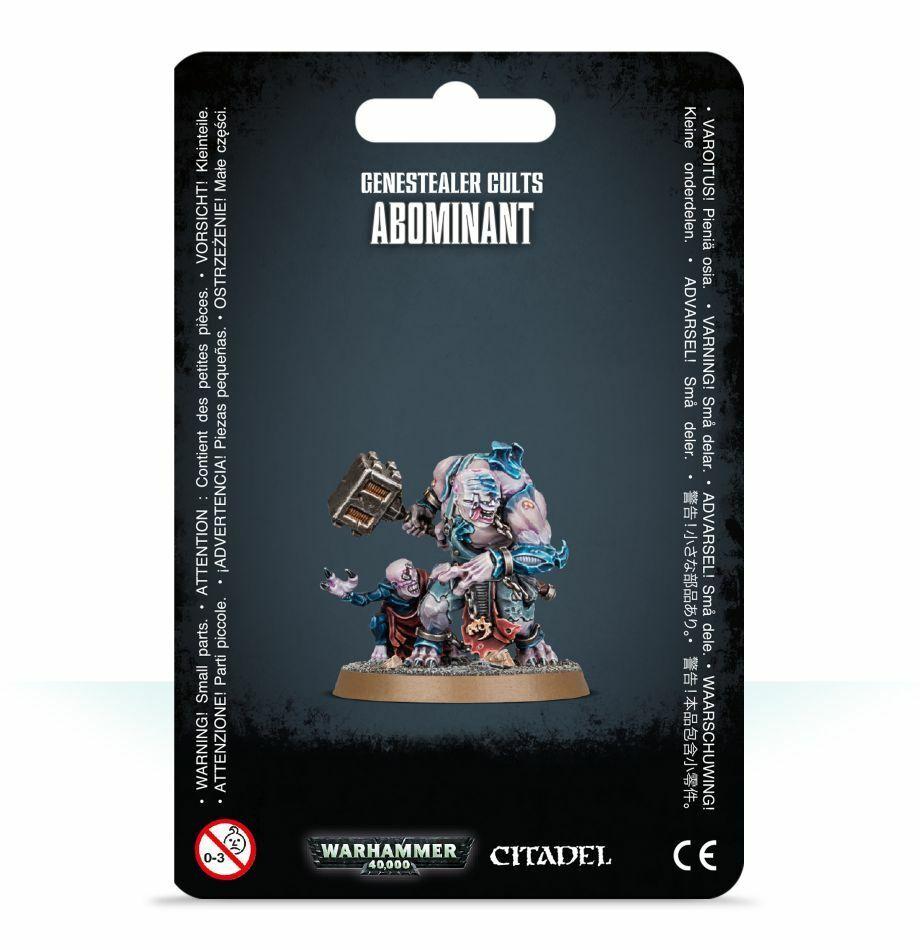 Genestealer Cults Abominant Workshop Warhammer 40000 Tyranids 51-59 Character
