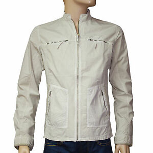 Blouson-jacket-BIG-STAR-toile-legere-homme-Beige