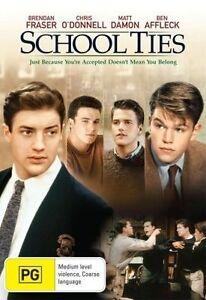 School-Ties-DVD-2011-Matt-Damon-R4-Excellent-Condition