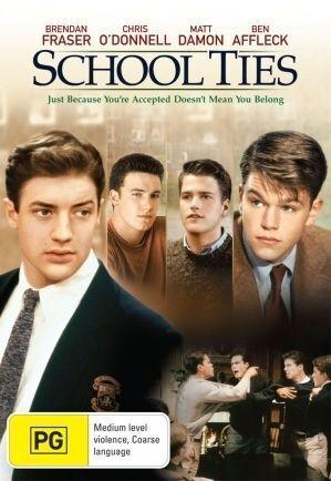 1 of 1 - School Ties (1992) Matt Damon - NEW DVD - Region 4