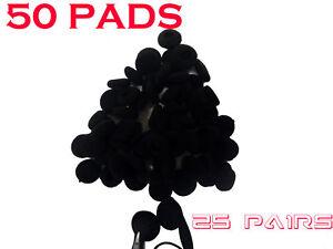 50 x EarBud EarPhone HeadPhone Foam Sponge Pads Covers