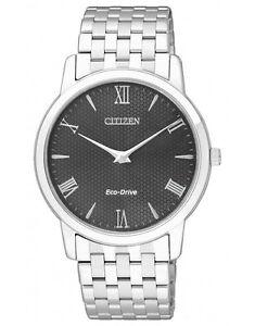 Citizen AR1120-50E Eco-Drive Mens Solar Watch Stiletto Ultra-Thin RRP $699.00