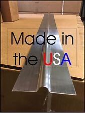 """100 - 4' Aluminum Radiant Floor Heat Transfer Plates for 1/2"""" Pex Tubing"""