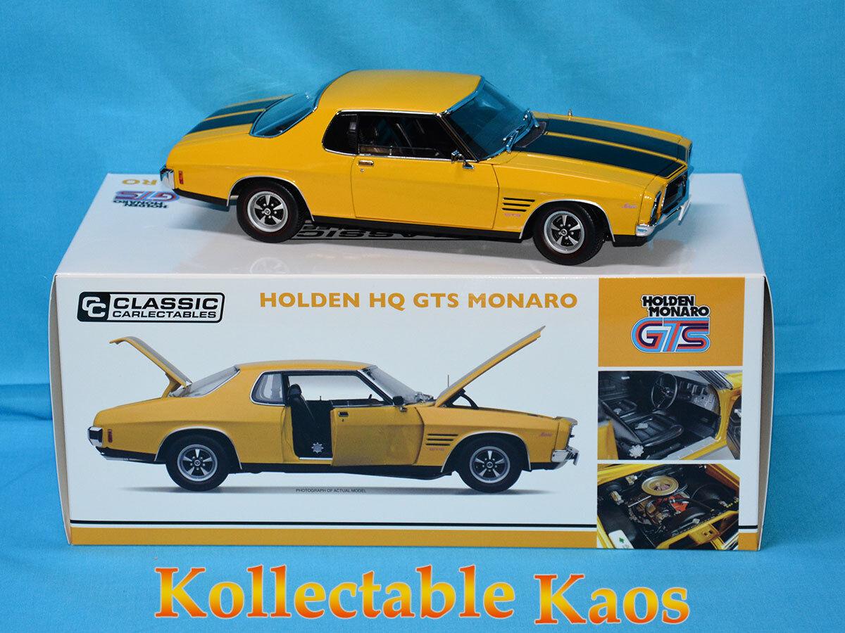 1 18 Classics - Holden HQ Monaro - Mustard