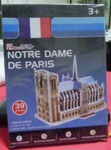 Puzzle 3D CubicFun cod S3012h NOTRE DAME DE PARIS PARIS S serie - Italia - Puzzle 3D CubicFun cod S3012h NOTRE DAME DE PARIS PARIS S serie - Italia