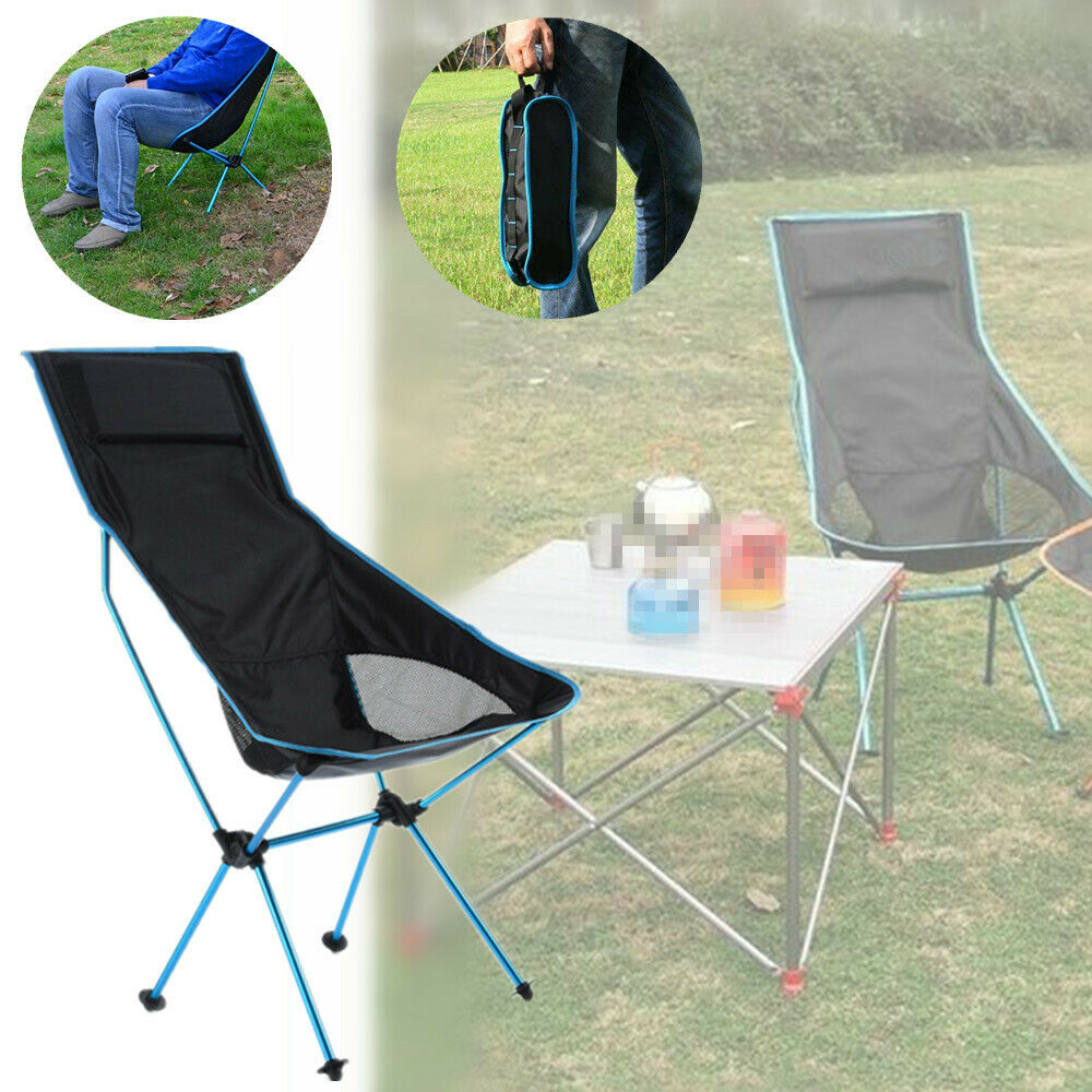 Folding  Chair Outdoor Travel Fishing Camping Beach Stool Lightweight Rest Seat  customers first