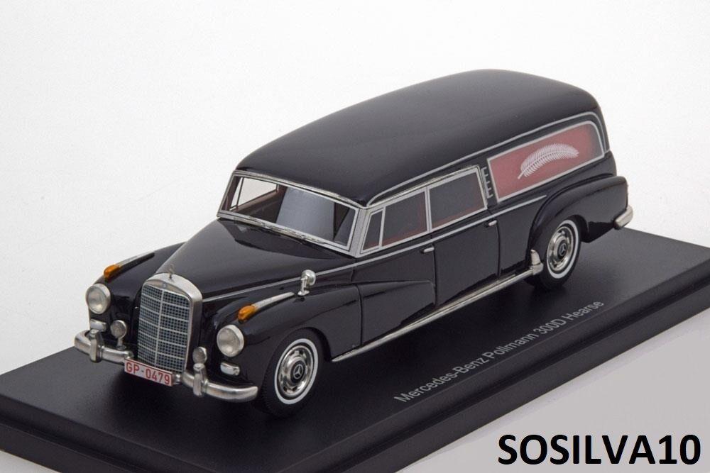 Bos modelle mercedes - benz 1   43 pollmann 300d leichenwagen