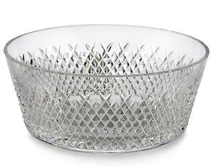 Waterford-ALANA-8-034-Bowl-Diamond-Cut-Crystal-150424-Retail-325-New-In-Box