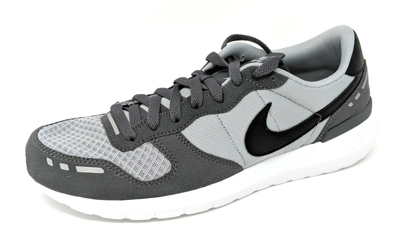 NIKE Men's Air Vrtx '17 Running Sz. 9 Med  Wolf Grey/Black- Dk Grey Seasonal clearance sale New shoes for men and women, limited time discount